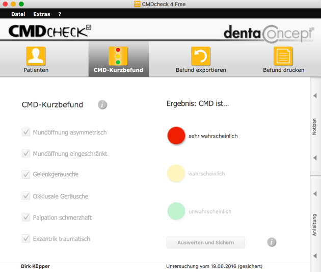 CMD 4 Mac dentaConcept